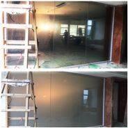 4S店的霧化投影玻璃應用OY-8